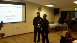 BWIPCC awards - Harpreet Singh batsman 2nd team