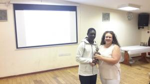 BWIPCC awards - Renal Stewart young player of the year